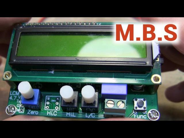 Измеритель емкости конденсаторов и индуктивности катушек с Aliexpress LC100. Обзор