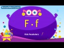 Kids vocabulary compilation - Words starting with F, f - Word cards - review Learn English for kids