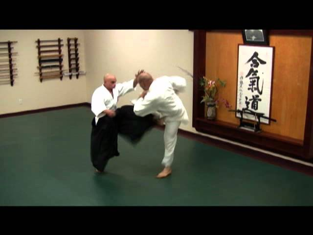 Aikido defenses against kicks and groundwork (part 2 of 2)