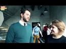 Екатерина Волкова и Андрей Карпов на съемках шоу «Мистер и Миссис Z»