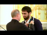 Владимир Путин вручил государственные награды российским олимпийцам