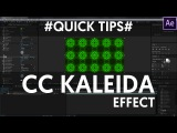 After Effects Tutorial  Kaleidoscope Effect Quick Tip