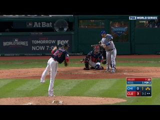 WS2016 Gm1: Miller whiffs Ross to escape jam