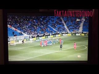 Andreas Pereira goal vs Espanyol | Amazing free kick | Manchester United Loane