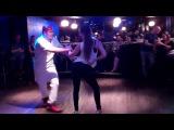 Predinho and Linda R&B Black Zouk Dancing