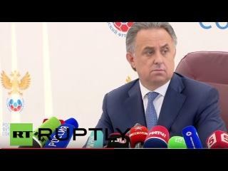 Россия: Мутко объявляет лимит бюджета $2,4 млн для Российского футбола тренерского штаба.