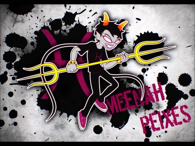 Homestuck- Meenah Peixess Theme- Fuschia Ruler- Extended