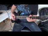 Keep Of Kalessin - The Divine Land guitar playthrough