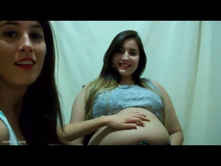 BBW honey belly play(stuffers 31 . com)