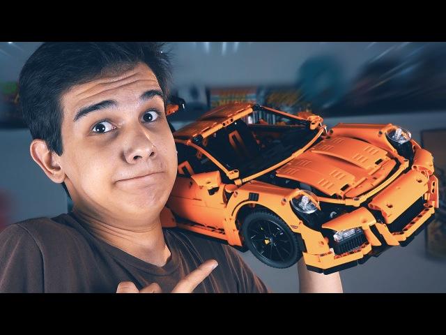 ПОРШЕ ЗА 30,000?! - LEGO Porsche GT3 RS (Набор на Обзор)