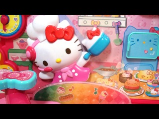 Cook with Rhythm! The Hello Kitty Kitchen
