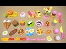 おままごとセット西松屋 / Collect them all!! Nishimatsuya's Slice-able Toy Food Collections