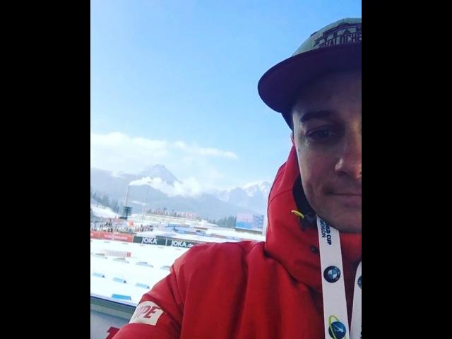 Алексис Бёф на Чемпионате Мира в Хохфильцене