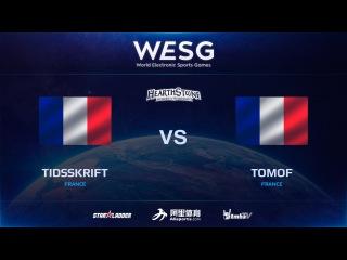 [RU] TIDSSKRIFT vs TOMOF, WESG HS European Qualifiers