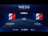 [RU] TIDSSKRIFT vs Weasel, WESG HS European Qualifiers
