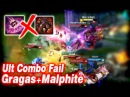 Funny/Fails Compilation 11 - Epic Ult Combo Fail [GragasMalphite] | League of Legends