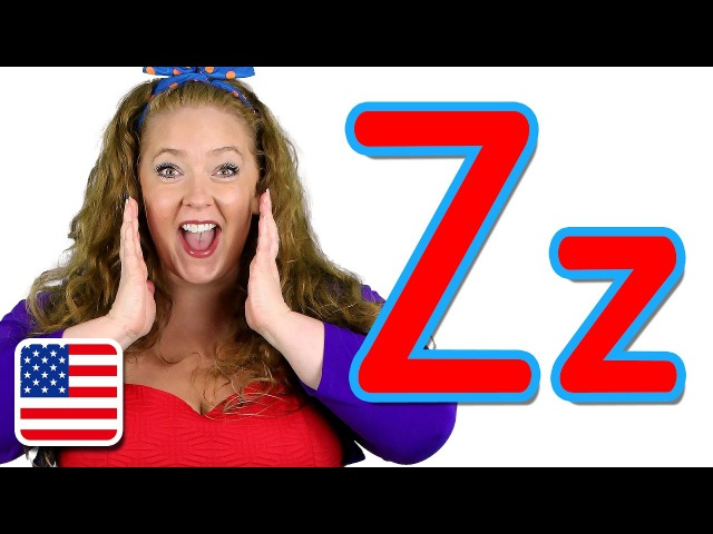 The Letter Z Song (US Zee version) - Learn the Alphabet