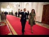 Без комментариев: Барак и Мишель Обама танцуют День «Звездных войн»