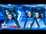 Angara Contortion are out of this world Auditions Week 4 Britains Got Talent 2017