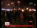 Молебень смолоскипи та пошуки вибухівки як Україна відзначала 3 річницю революції