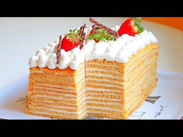 Голый ТОРТ МЕДОВИК | Рецепт нежнейшего торта