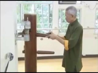 Вин Чунь. Техника манекена от мастера Чу Шонг Тина.
