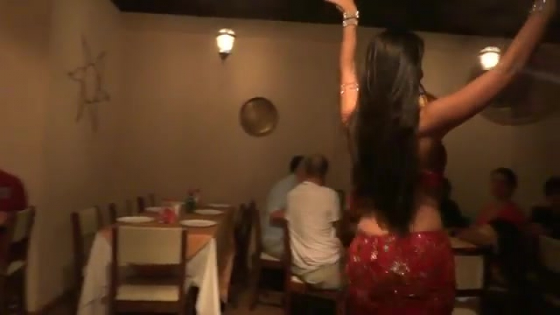 Trecho apresentaçao de Dança do Ventre 2929