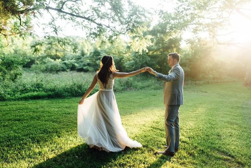 Мечтательная свадьба Джея и Даны (30 фото)