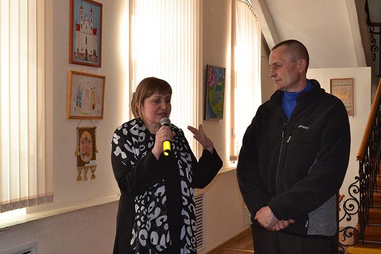 Святлана Кавальчук і Валерый Шэвель
