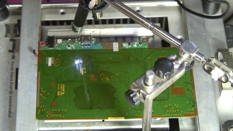 """Как надежно припаять разъем зарядки микро USB вырванный с """"корнем"""""""