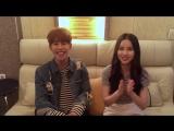 Park Kyung (Block B) &amp Eunha (GFRIEND) Inferiority Complex @ AZTalk