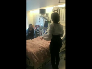 May 8: camila at mattel children's hospital ucla