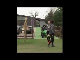Терри с жвачкой тренируется не хуже, чем с мячом