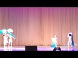 Выступление хореографического ансамбля