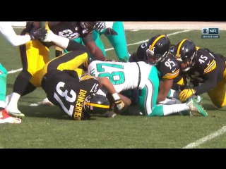 NFL 2016-2017 / AFC Wild Card / Miami Dolphins - Pittsburgh Steelers / 1Н / 08.01.2017 / EN