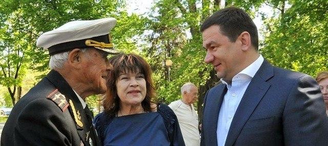 Жители Запорожской области собрались на митинг в честь героев-освободителей