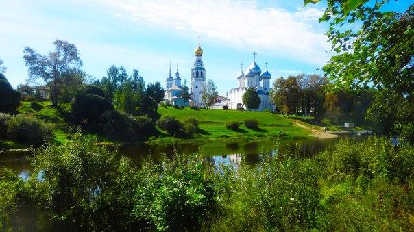 Летняя Вологда 🍃☀  Фото: Денис Рогов