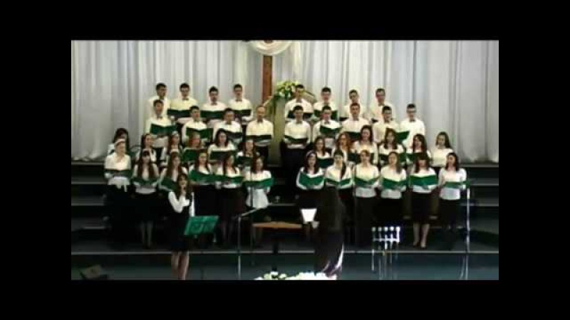 Я вижу Иисуса - Молодежный хор ц. Вифания. Молдова. Кишинев.