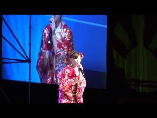 Misaki Iwasa Enka AKB48 Live Perform Show Japan Expo 2016 HD