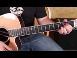 Grateful Dead - Jerry Garcia - Birdsong - How to Play on Guitar - Acoustic Songs Lesson