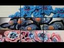 Art Crochet of Asia Verten Ирландское кружево комбинированное с тканью Малые формы 2