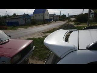 Накладка на спойлер HIRO Toyota Caldina ST AT CT 210-215