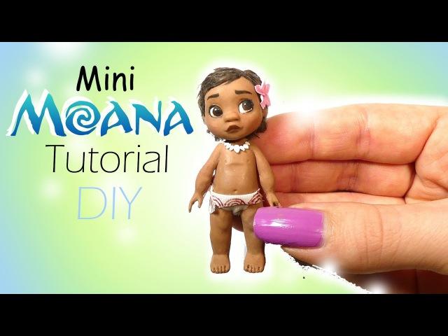 Disney's Moana Inspired Doll Tutorial Miniature DIY