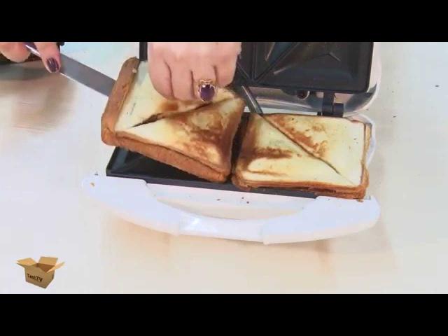 TEST.TV: Бутербродницы Redmond, Moulinex и Tefal - ищем отличия.