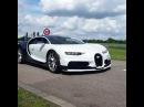 Testing Bugatti Chiron in Molsheim