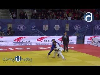 MARGVELASHVILI Vazha (GEO) vs BASILE Fabio (ITA) - Judo Grand-Prix Tbilisi 2016 final (-66 kg:)