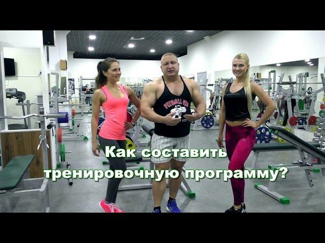 Составление тренировочных программ для женщин