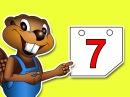 """""""Песенка про дни недели"""". Выучите слова про английский календарь. Учите детей аутистов. Детский сад."""