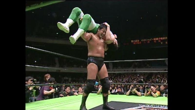 Kenta Kobashi vs Mitsuharu Misawa (March 1, 2003)