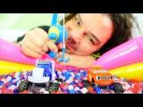 Türkçe izle- Erkek çocuk oyunları/videoları. Oyuncak araba oyunu.Asrın, Blaze, Crusher, balık tutma